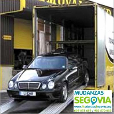 Mudanzas de Automóviles en Segovia