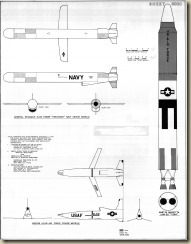4 Cruise Missiles & Titan - 1-24th Scale