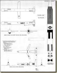 4 Cruise Missiles & Titan - 1-24th Scale