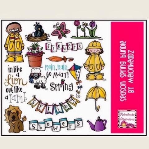 http://www.teacherspayteachers.com/Product/Season-Spring-Deluxe-bundle-by-melonheadz-886817