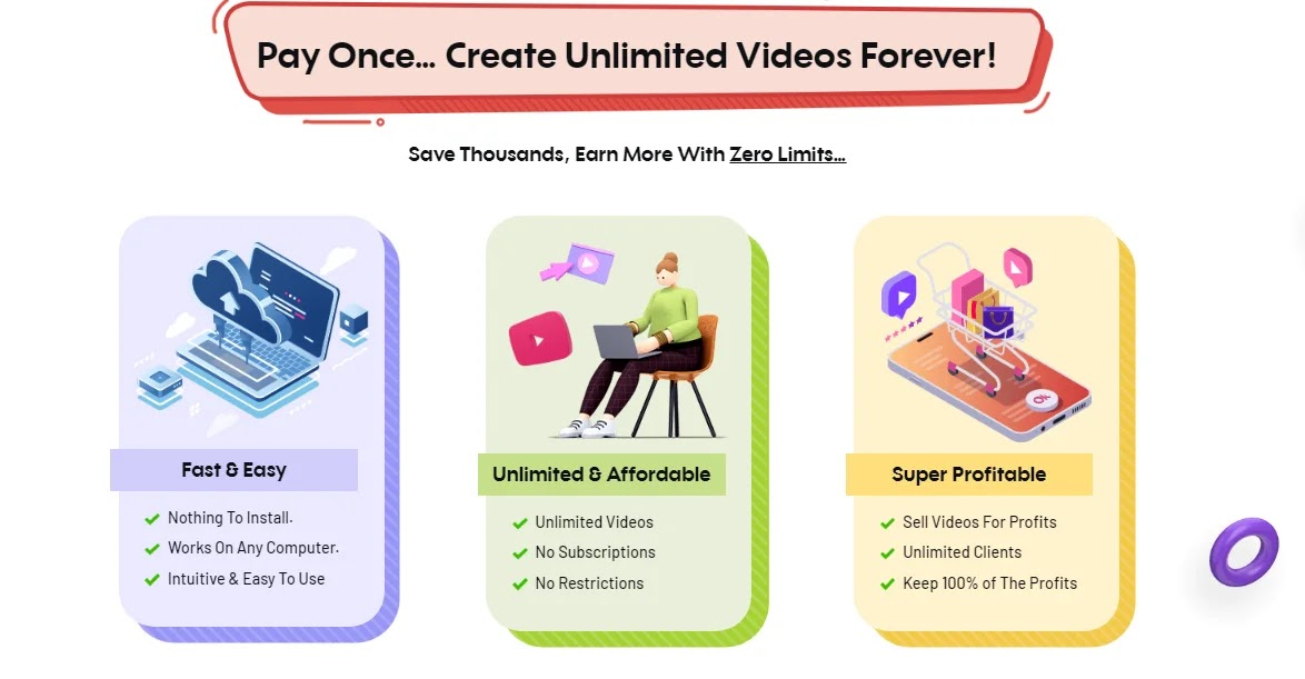 Videocreator Review - Advantages of Buying Videocreator
