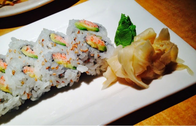 Kona Grill, California Roll, Sushi