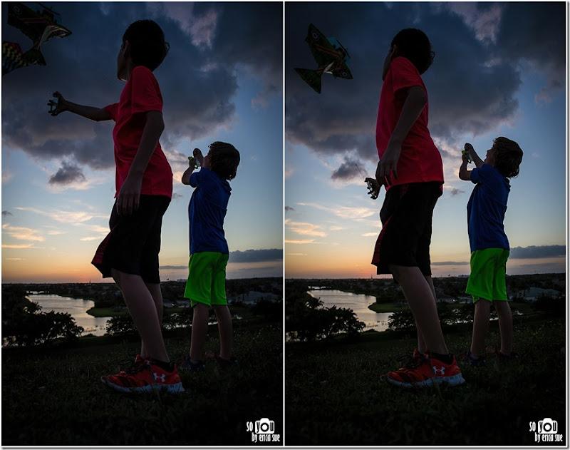 Kite Sunset silhouette-8660 (2)
