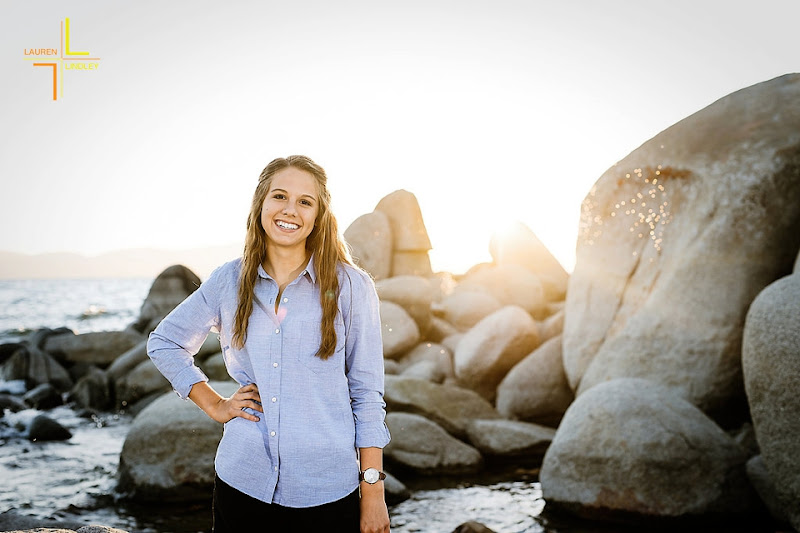 Tahoe Senior Portrait