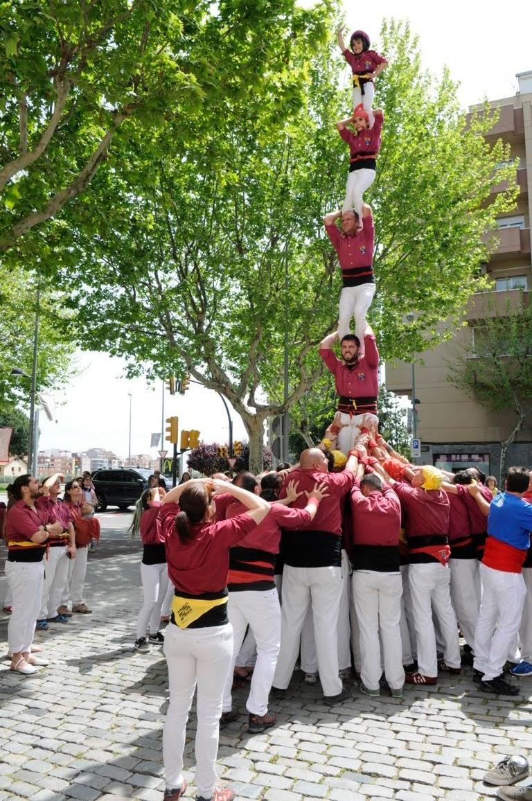Actuació de Sant Jordi (Esplugues de Llobregat)  22-04-2018 - _DSC1596_castellers .JPG