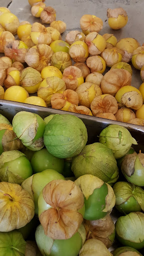 Two colors of tomatillos! Foodie Finds: Mercer Hall, Stratford, Ontario