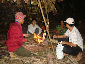 Photo: The Jungle camp in Luang Namtha, Laos