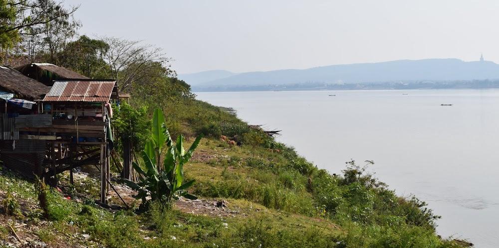 wandering around the Mekong Riverfront in Savannaket...