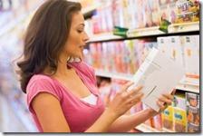 Una donna al supermercato