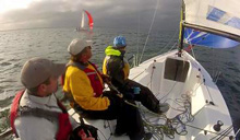 J/70 Sailing World boat test with David Reed