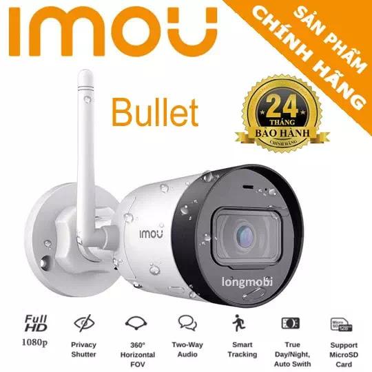 camera wifi ngoai troi imou bullet g22ep