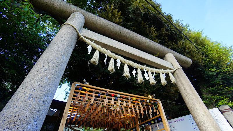 川越氷川神社 風鈴回廊 写真1