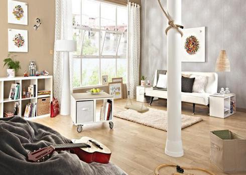 Tạo bầu không khí ấm cúng cho phòng khách nhà bạn