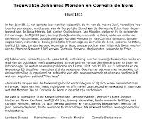 Monden, Johannes en Bons, Cornelia de Huwelijk 09-06-1811 Tekst.jpg
