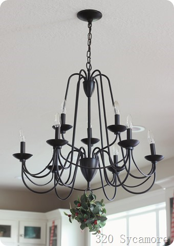 chandelier from lowes
