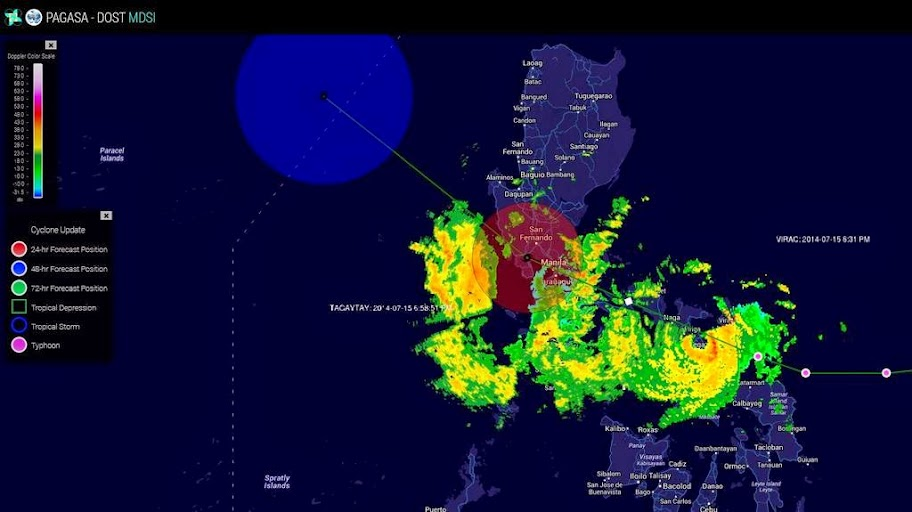 Eye of Typhoon #GlendaPH