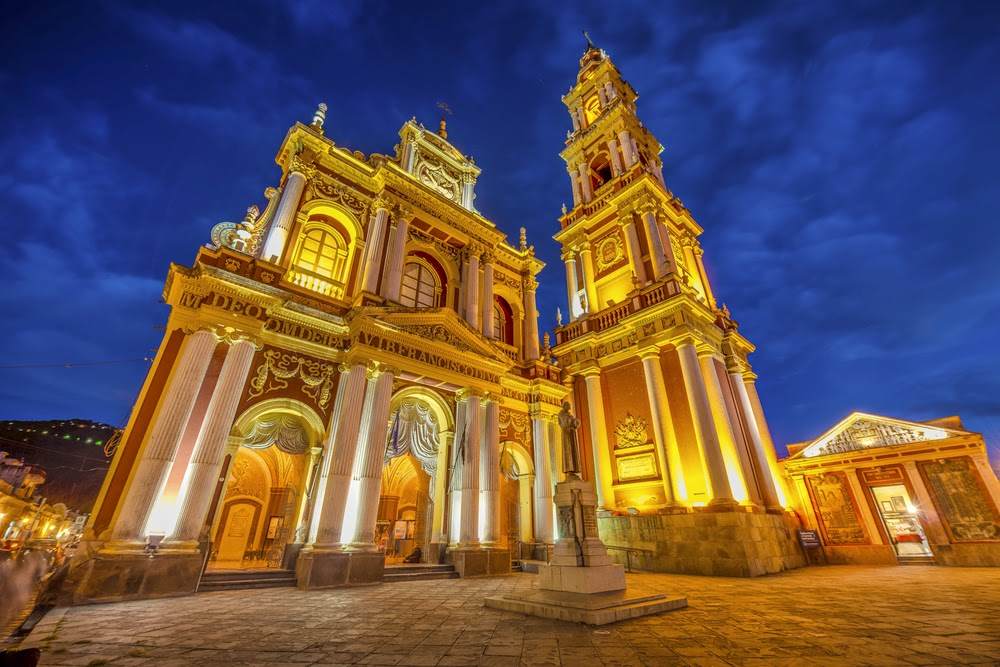 Basilica San Francisco in Salta, Argentina