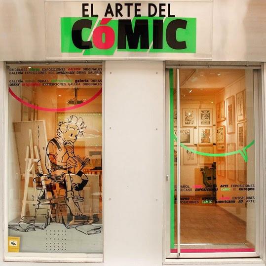 Galería El Arte del Cómic