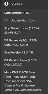 Mura 7 (1) on Lucee 5 x with MySQL 5 7 database - which