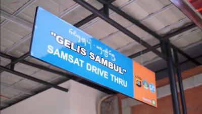 "Samsat Drive Thru ""Gelis Sambul"" Buleleng"