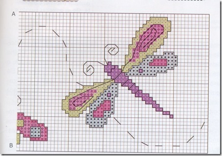 libelula punto de cruz (1)