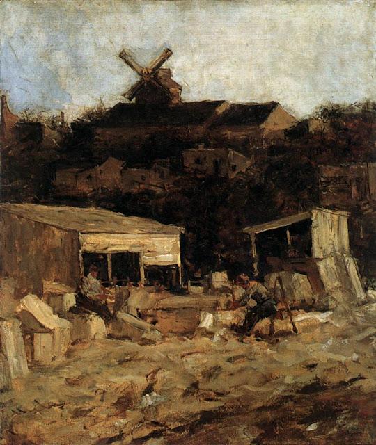 Matthijs Maris - Quarry at Montmartre, ca.1871-73