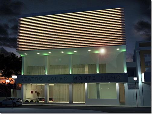 Projeto de como ficará o Teatro Lauro Monte Filho_2