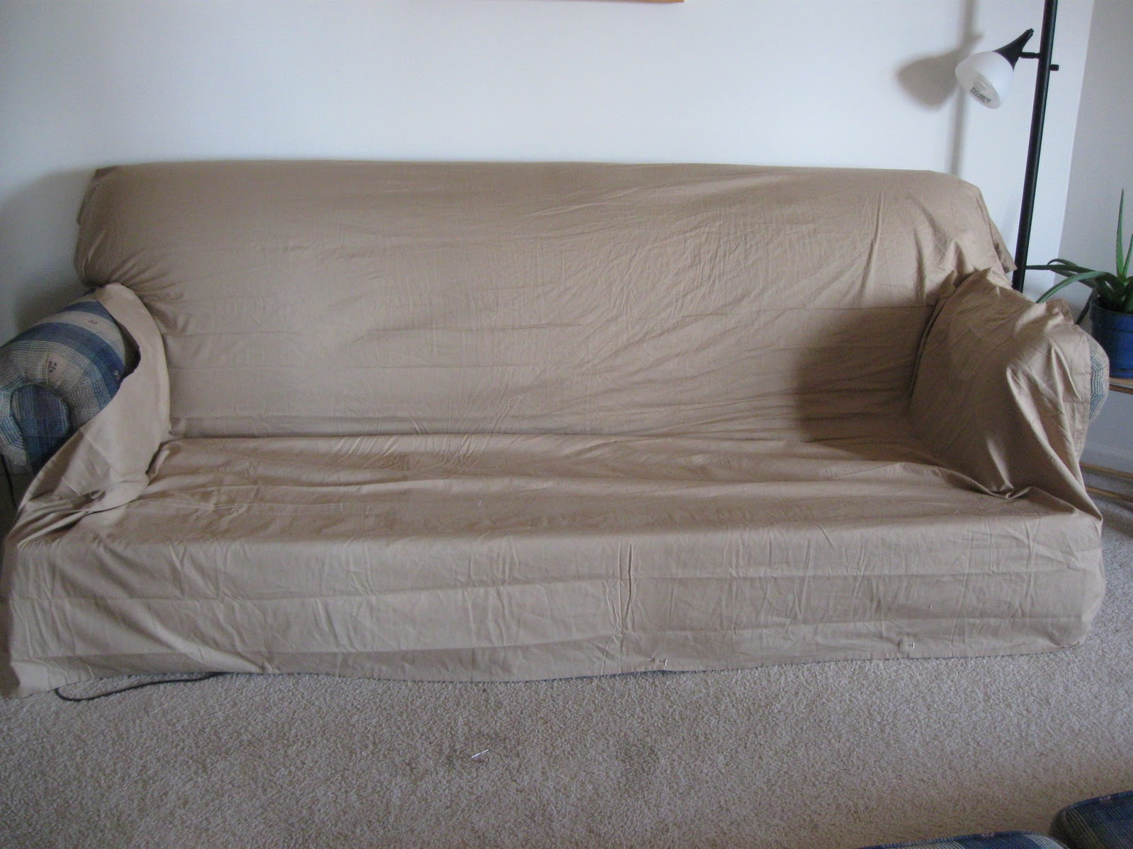 Turning A House Into Home Creating Beauty On Budget Let Me Slipcover Something Little More Comfortable