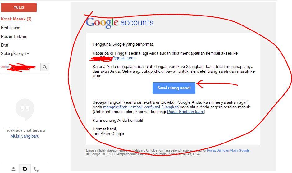 Tentang Verifikasi 2 Langkah - Google Product Forums