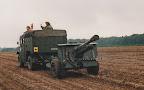 6 pounder anti tank gun, Landingzone Klein Amerika