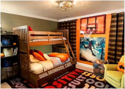 kamar anak Warna-Warni