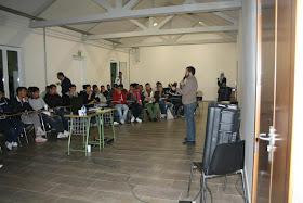 4º Sesión de FORMACIÓN DEL JOVEN LÍDER 7-8-9/12/2012 en albergue Argentina de Benicassim (Castellón).