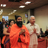 Swami Ramdevji Visit to Shree Hindu Temple