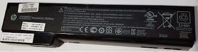 Fotografías de las baterías estudiadas y características básicas