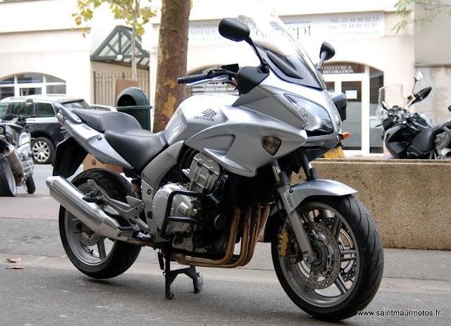 occasion honda cbf 1000 abs grise 2008 59900kms vendue saint maur motos. Black Bedroom Furniture Sets. Home Design Ideas