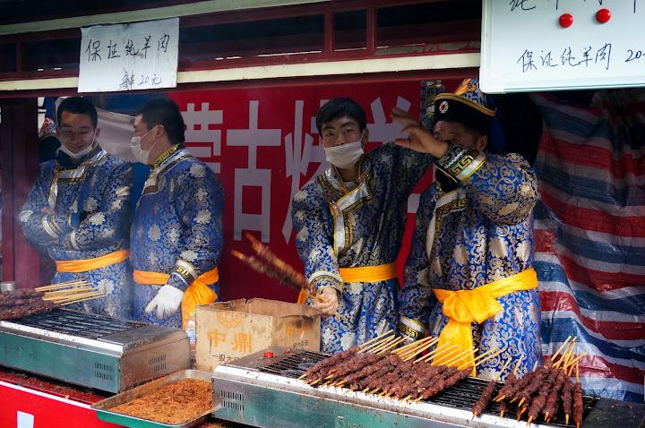 paradas de comida en el año nuevo chino