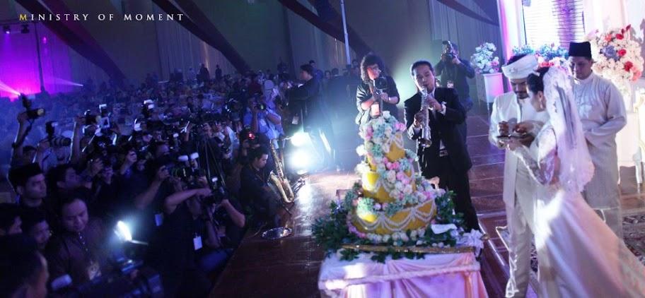 kek perkahwinan lisa surihani dan yusry