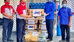 JNE Galang Donasi dan Kirim Tabung Oksigen Gratis untuk Rumah Sakit di Indonesia