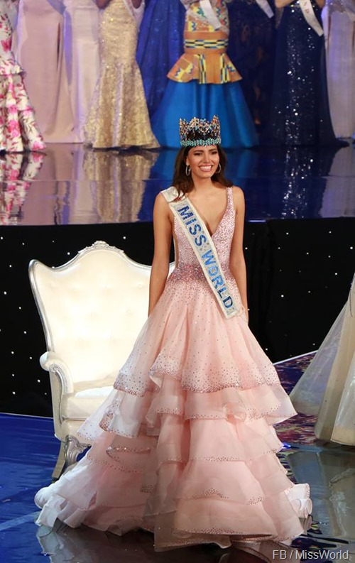 Miss World 2016 Stephanie Del Valle from Puerto Rico