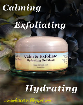 This amazing gel mask calms, exfoliates, and hydrates, all at the same time.  Perfect for dry, red, dull, broken out winter skin!