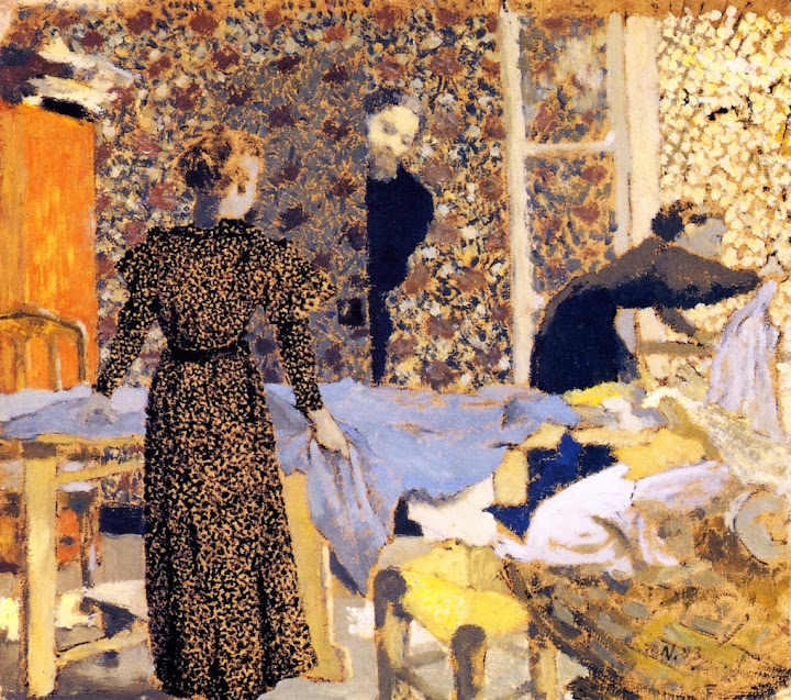 Édouard Vuillard - Interior with Work Table
