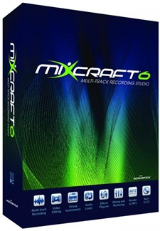 mixcraft6 Download   Acoustica Mixcraft 6.0 Build 196 + Serial