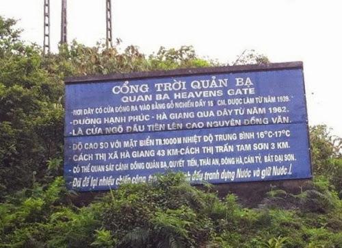 176 Lên Hà Giang thăm cổng trời Quản Bạ