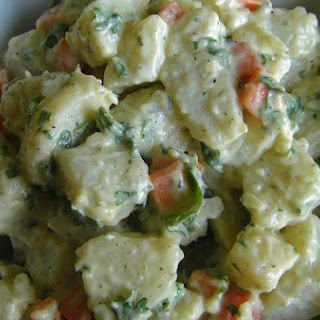 Papa Rusa (Chilean Russian Potato Salad)