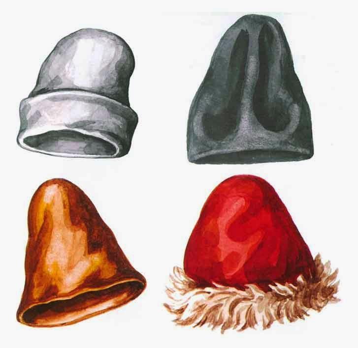 Русская шапка  на Руси