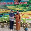 Kepala sekolah SDN. 101918 Kualanamu Sambut hangat pimpinan Redaksi Jurnal Post