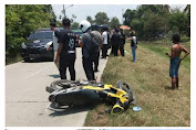Inalillahi,  Pengendara Motor Meninggal Setelah Tabrak Mobil DPRD Karawang di Layapan Tempuran