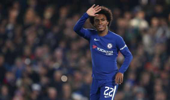 Manchester United wants Willian's services