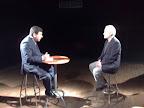 """Momento de la entrevista a Mansur Escudero en el programa """"La Telaraña del Canal de Televisión Cable Centro"""