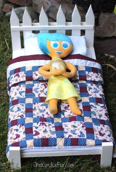 Doll bed for Joy emotion inside out